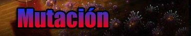 mutacion