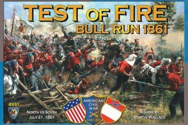 Test of fire juego de mesa