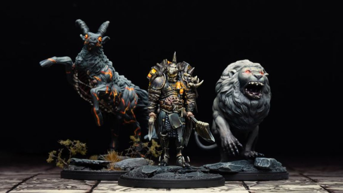 Kingdom Death Monster juego de mesa