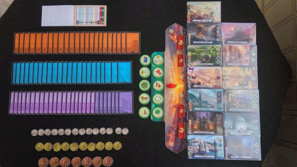 7 wonders duel juego de mesa