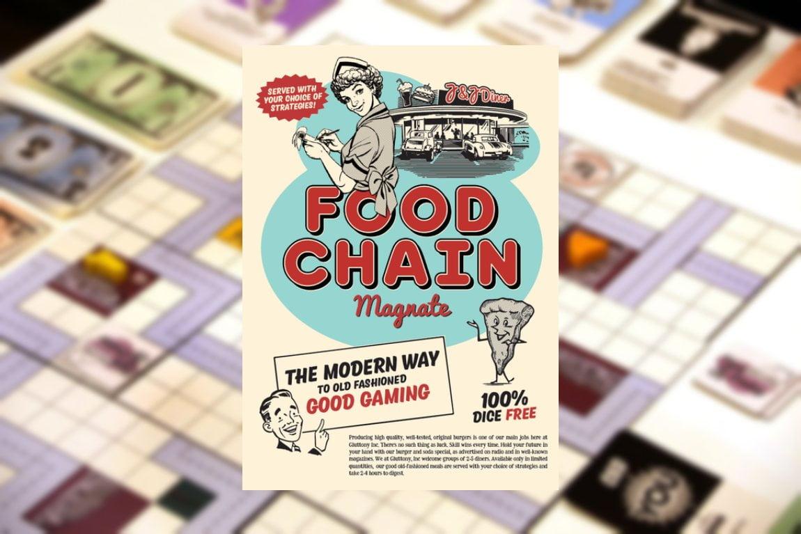 Food chain magnate juego de mesa