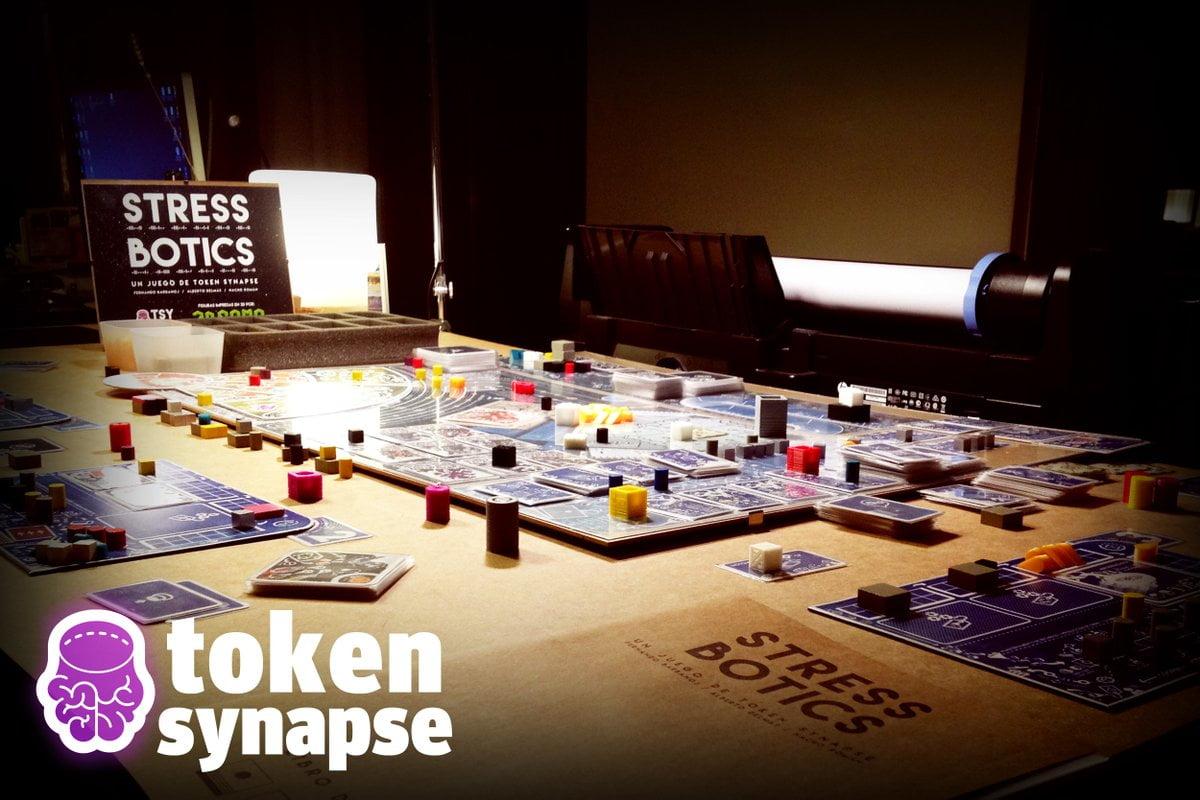 stress botics juego de mesa