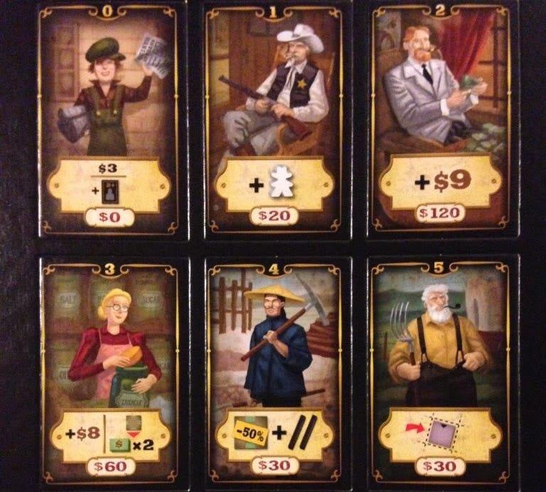 carson city the card game juego de mesa