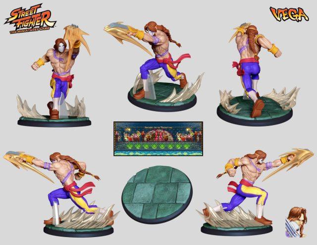 street fighter miniature game juego de mesa