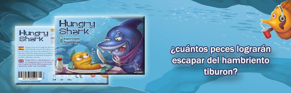 hungry shark juego de mesa