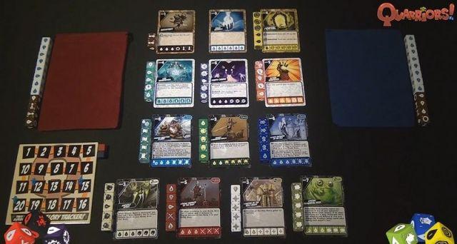 quarriors juego de mesa