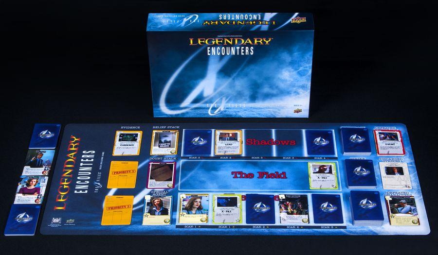 Legendary Encounters X-Files juego de mesa