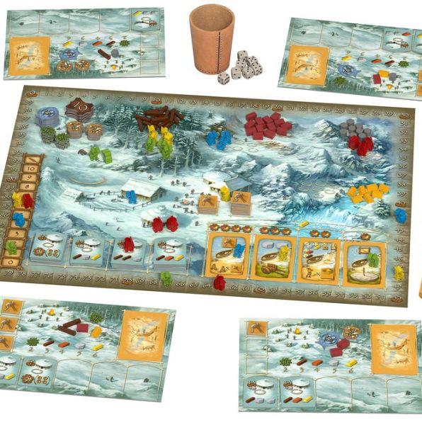 Stone-Age-10th-Aniversary-Edition-Board-Game-Components
