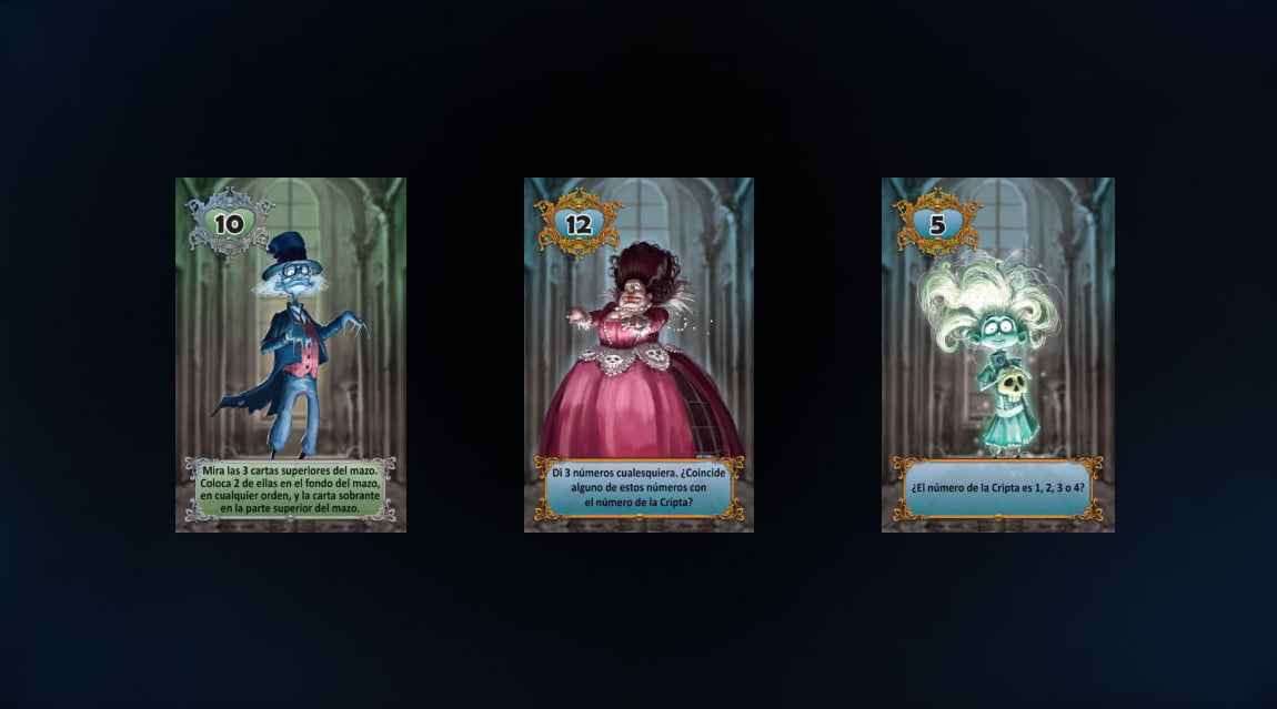 13 fantasmas juego de mesa