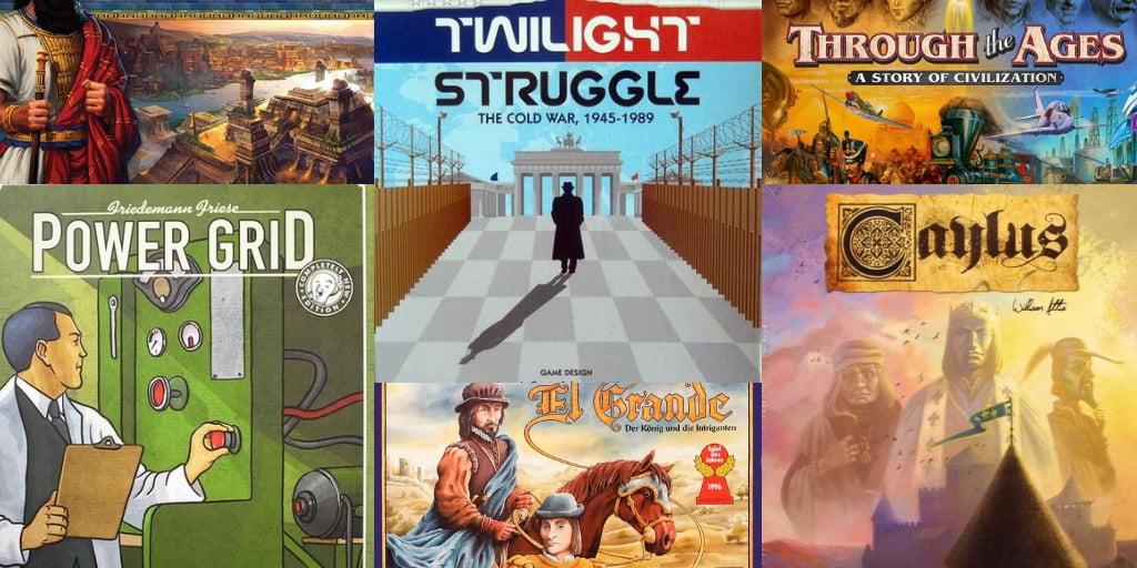 Los mejores juegos de mesa de la historia