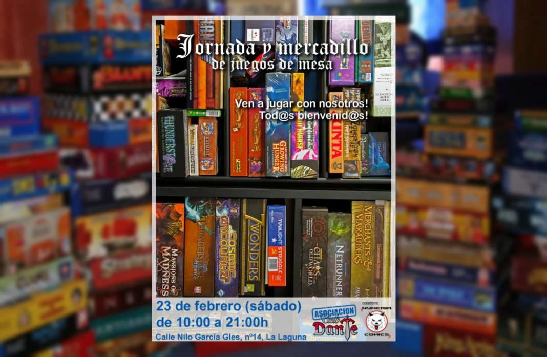 La Asociación El Club Dante celebra sus jornadas de juegos de mesa en Tenerife