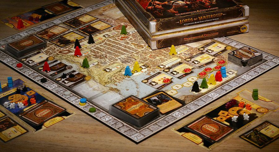 lords of waterdeep juego de mesa