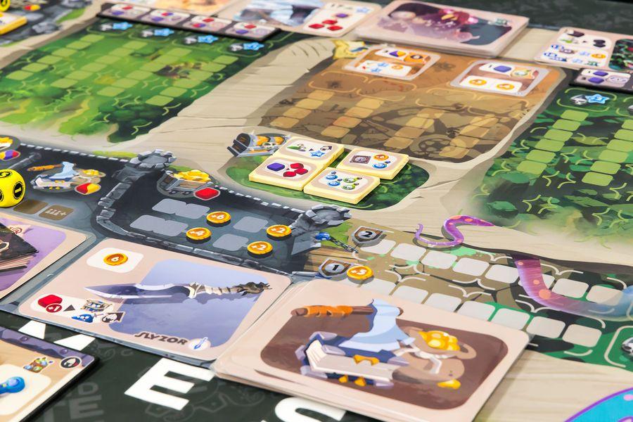 Monster Lands juego de mesa