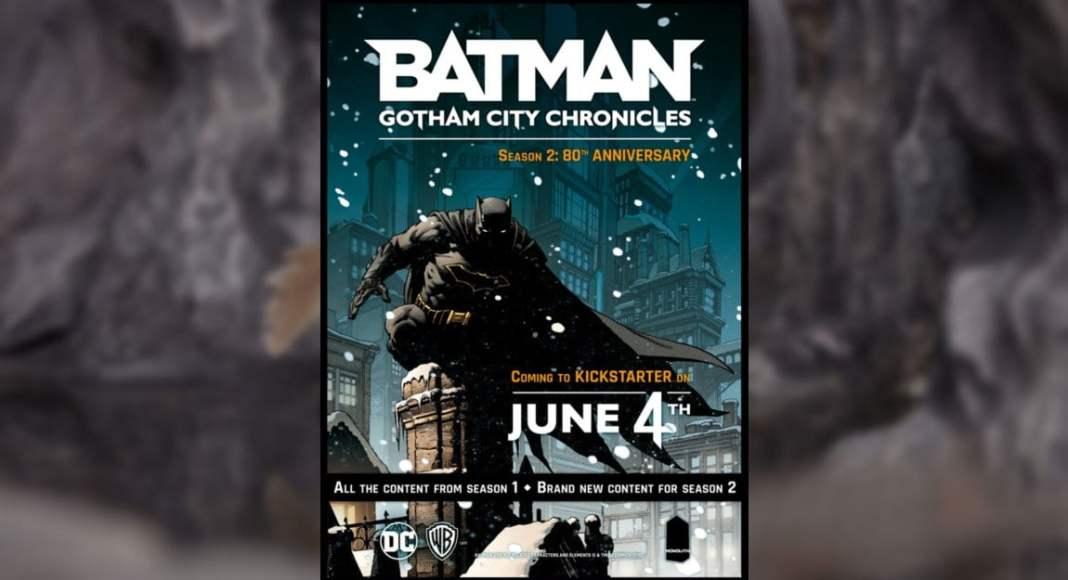Batman Gotham City Chronicles juego de mesa