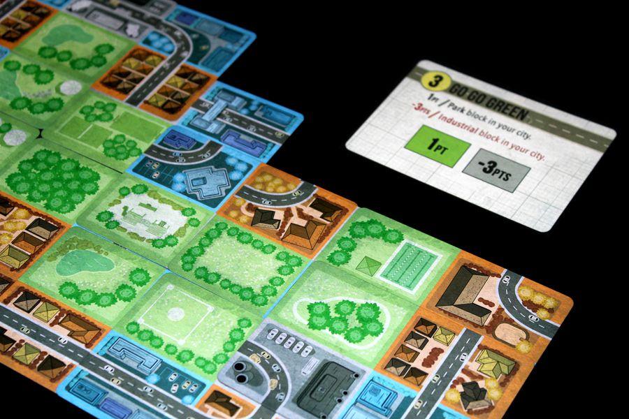 Expansiópolis juego de mesa