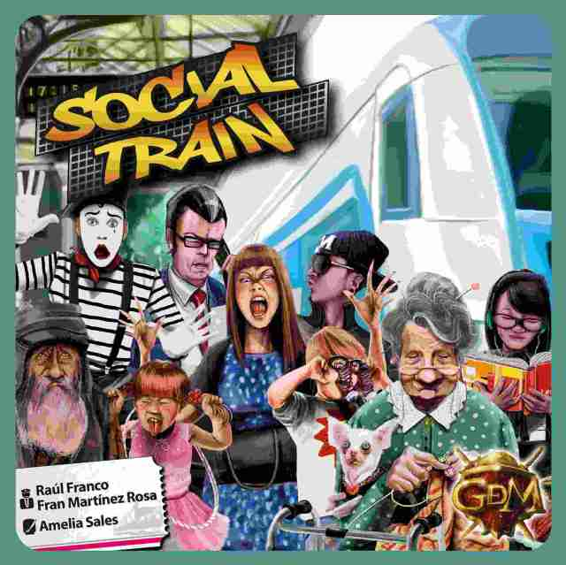 Social Train juego de mesa
