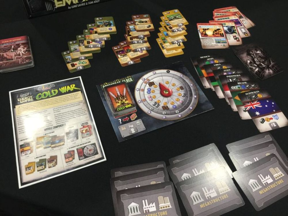 Manhattan project energy empire cold war juego de mesa