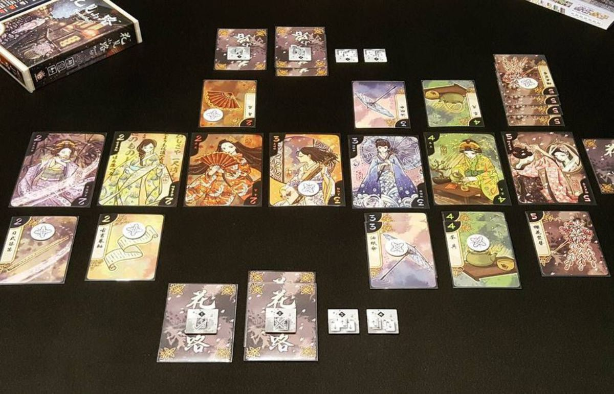 Hanamikoji juego de mesa