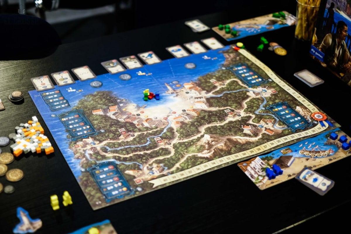 Valparaiso juego de mesa