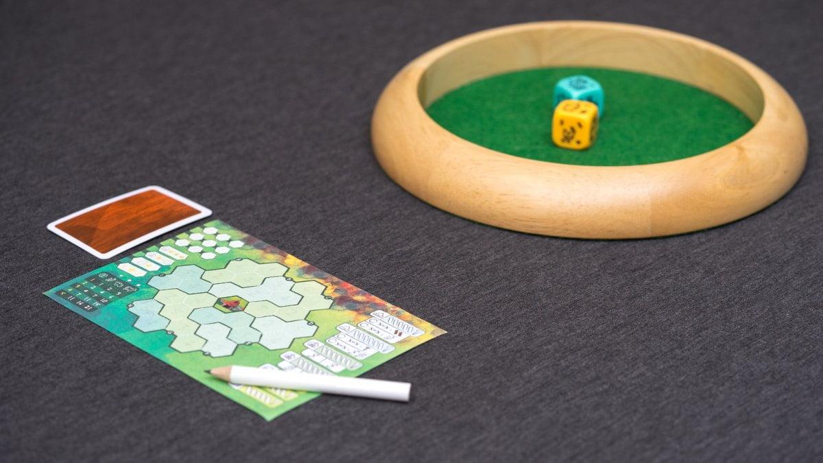 Rolling ranch juego de mesa
