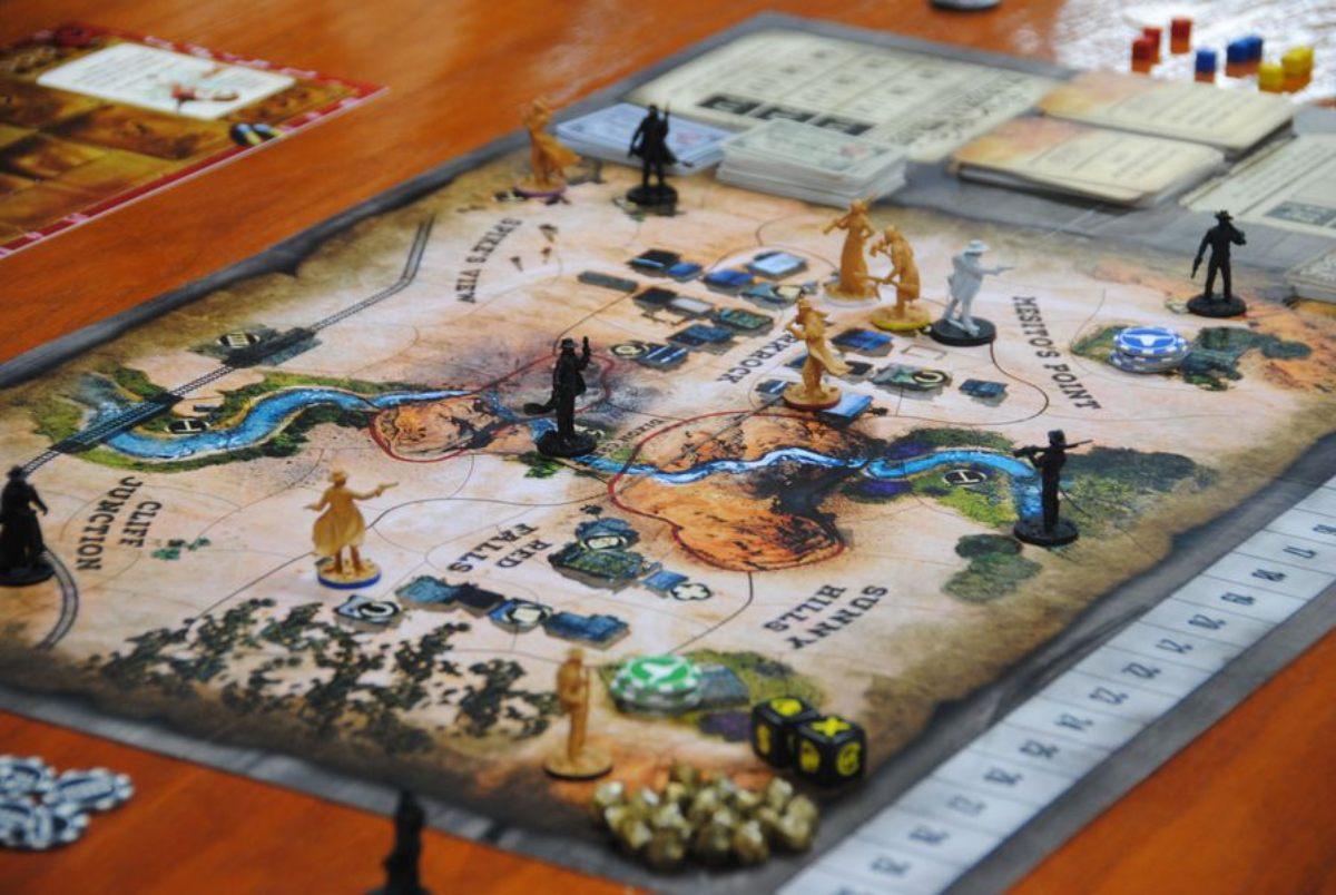 western legends juego de mesa