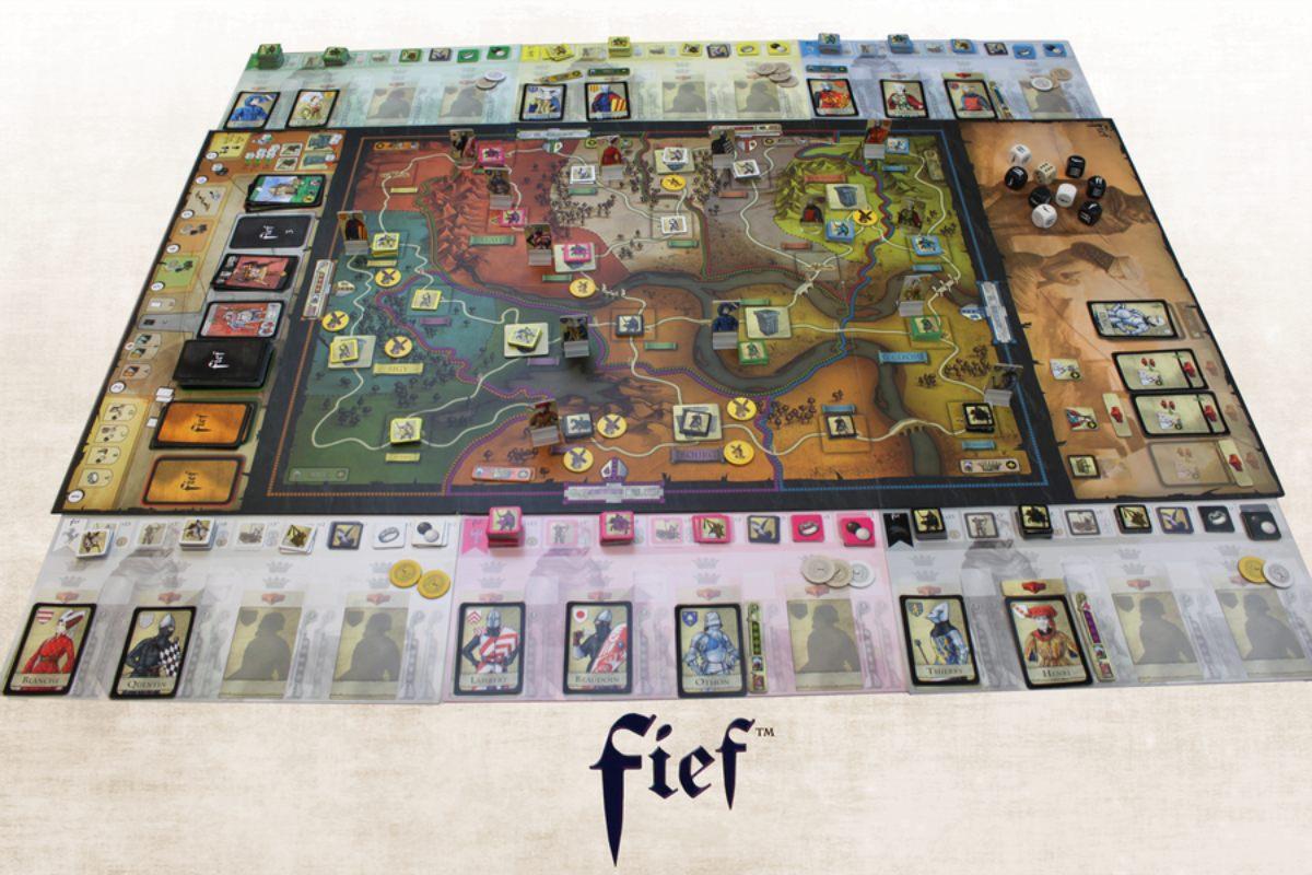 Fief: Francia 1429 juego de mesa