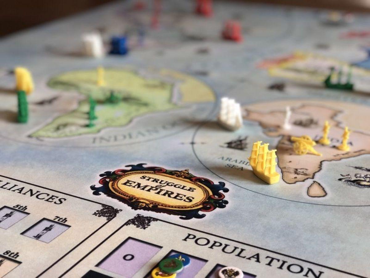 struggle of empires juego de mesa