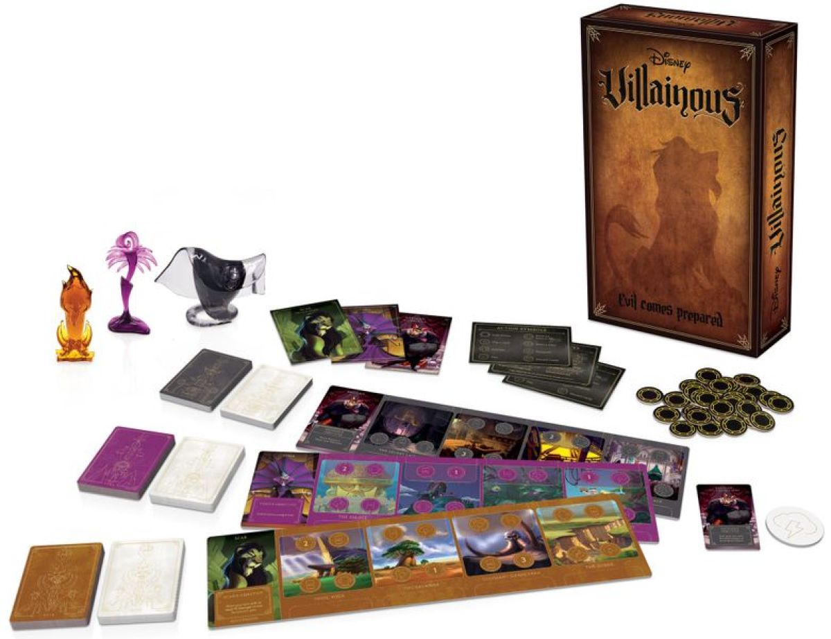 Villainous: Evil Comes Prepared juegos de mesa