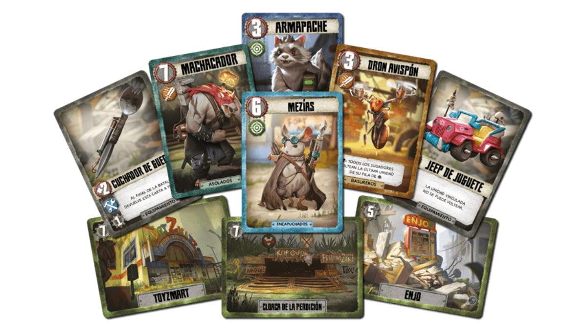 Battlelands: Tras la Caída juego de mesa