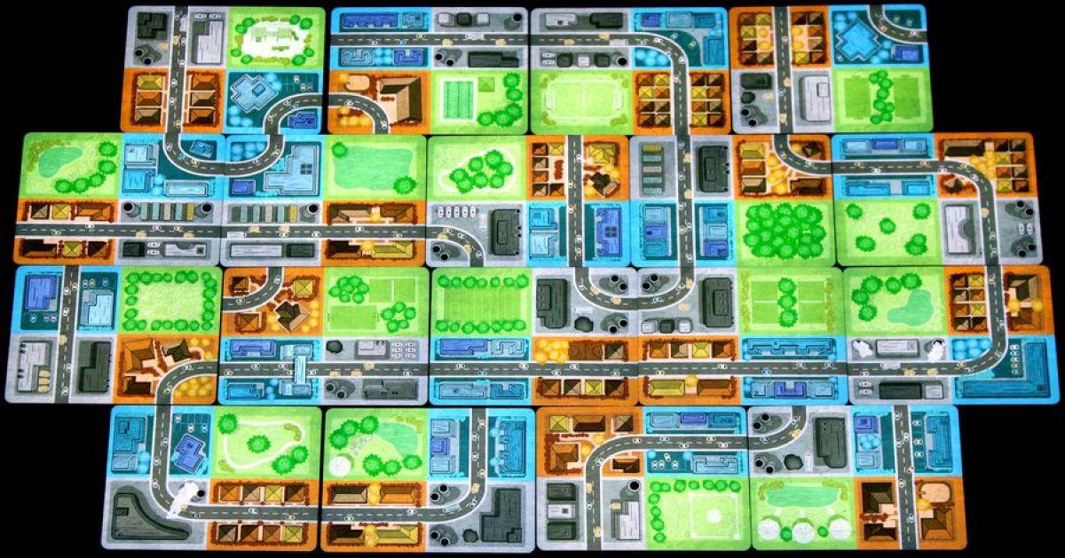 Expansiopolis juego de mesa