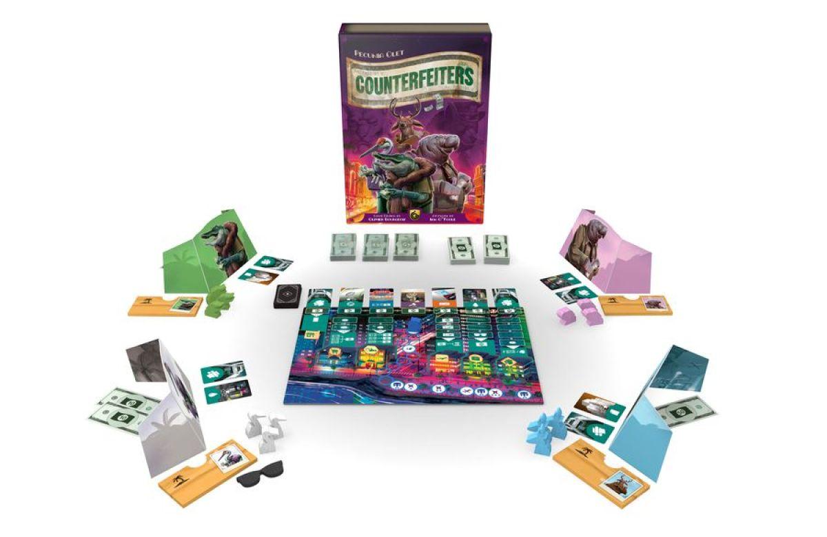 Counterfeiters juego de mesa