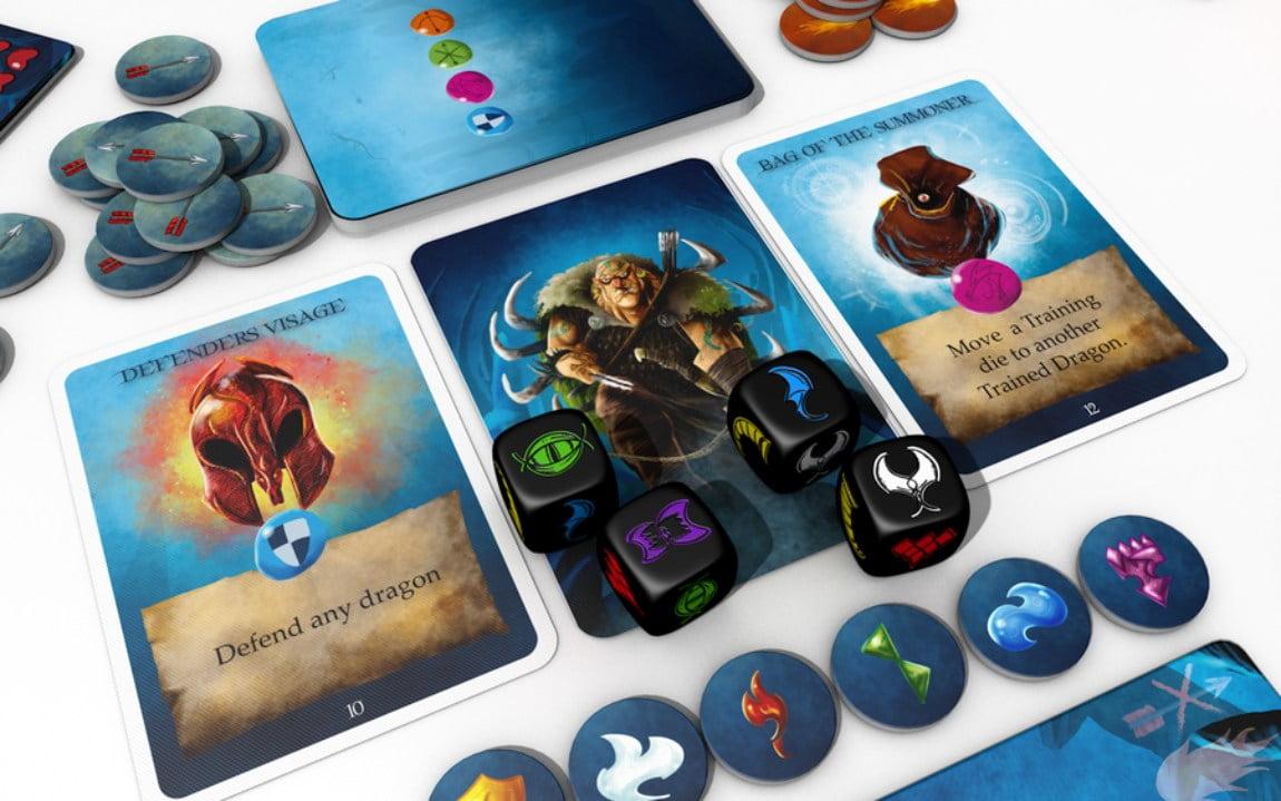 Dragon Keepers juego de mesa
