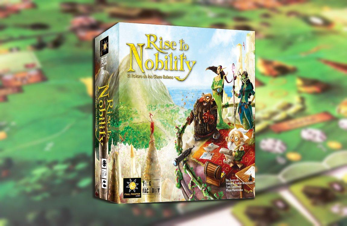 rise to nobility juego de mesa