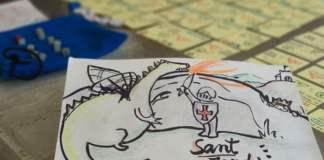 Sant Jordi i el drac juego de mesa
