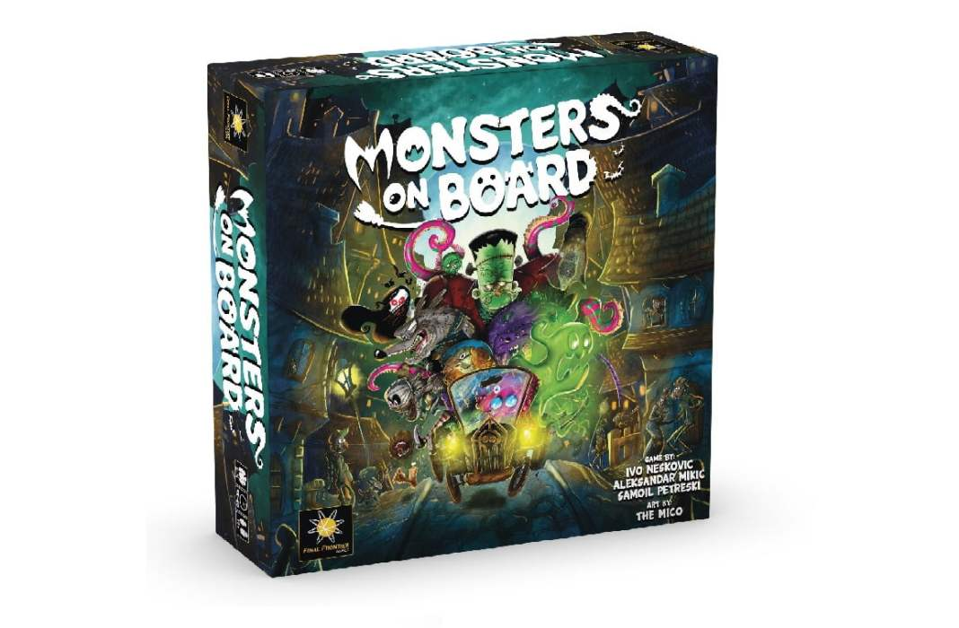 monsters on board juego de mesa
