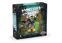 monsters on board juego de mesa