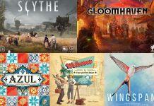 Los 10 juegos más jugados según la BGG