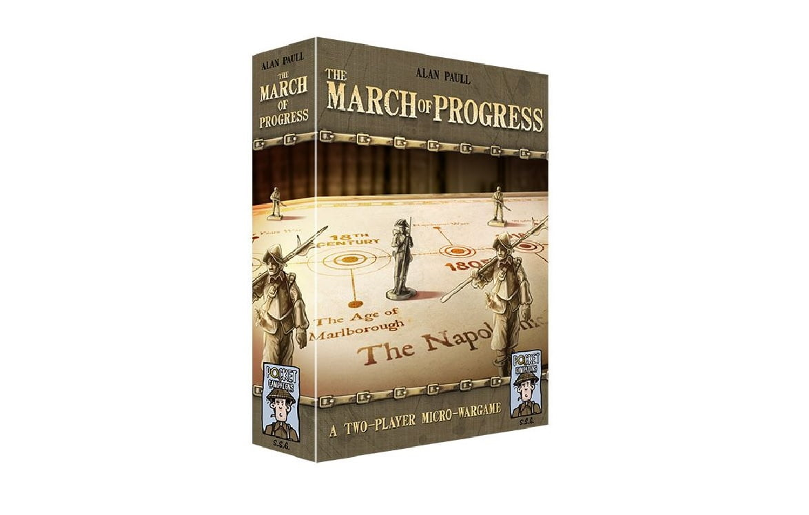 the march of progress juego de mesa