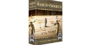 the march of progress juego de mesa