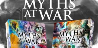 Guerra de Mitos juego de mesa
