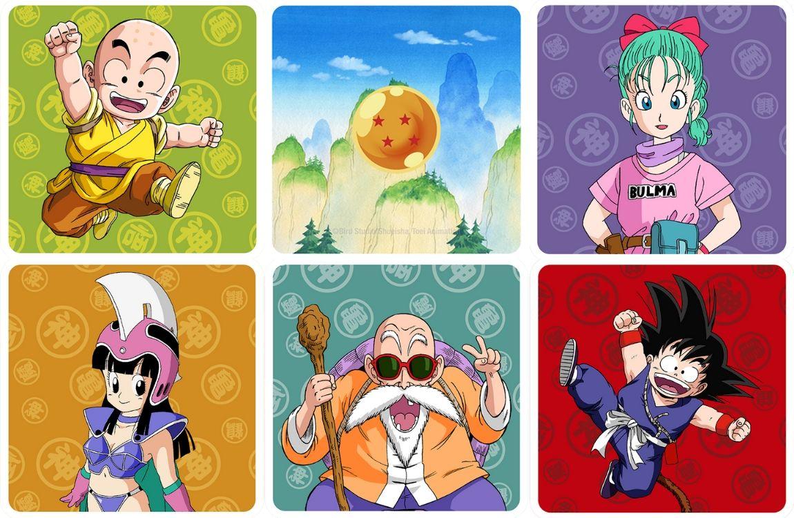 Dragon Ball Memoarrr! juego de mesa