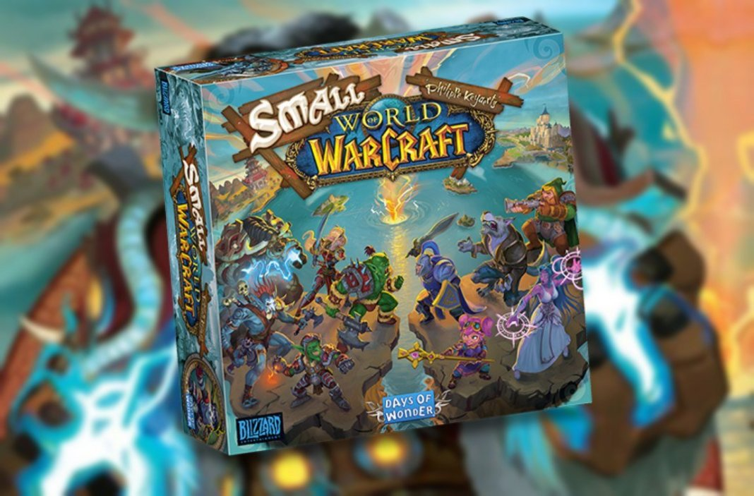 small world of warcraft juego de mesa