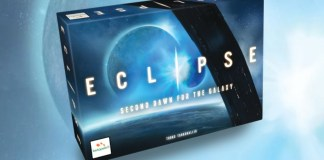 Eclipse Second Dawn juego de mesa