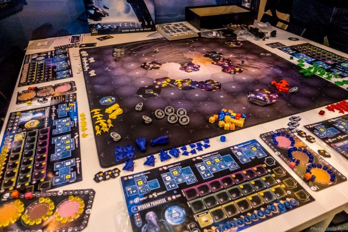 Eclipse Second Dawn for the Galaxy juego de mesa
