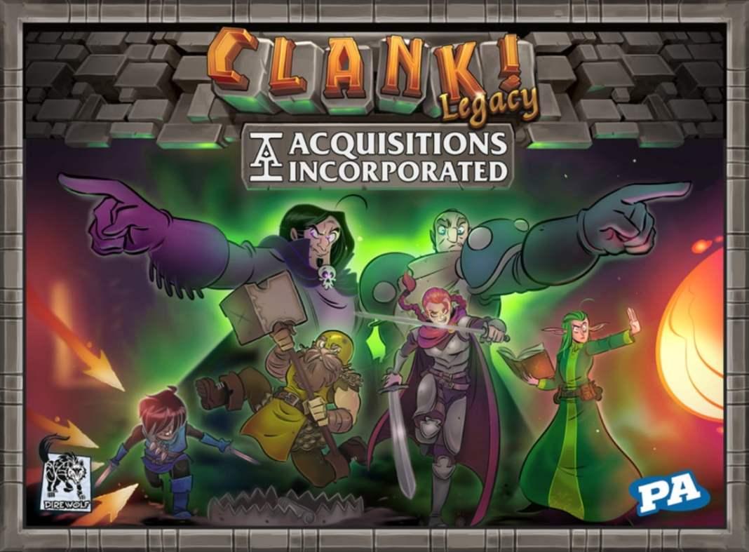 Clank Legacy juego de mesa