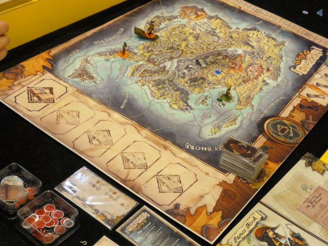 Adventures in Neverland juego de mesa