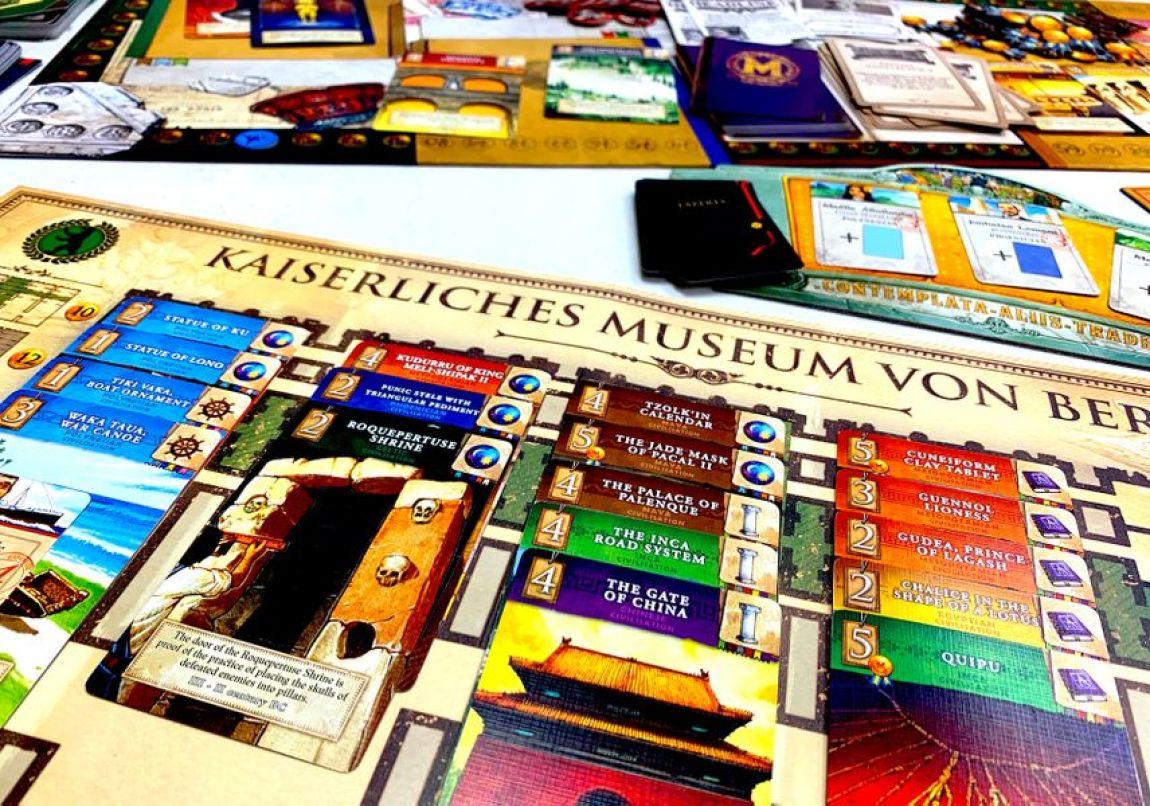 Museum juego de mesa