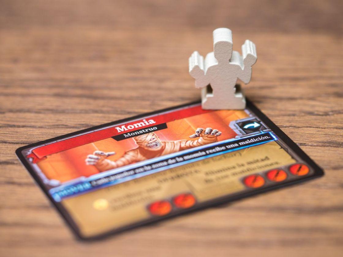 Clank La Momia juego de mesa