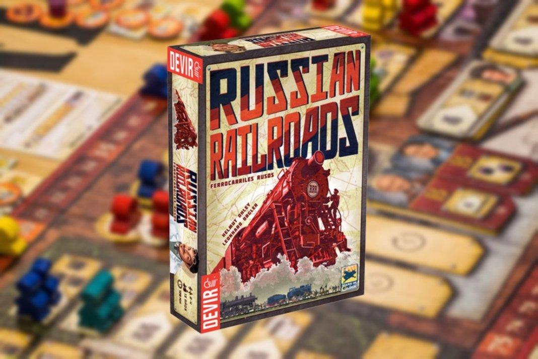 Russian Railroads big box juego de mesa