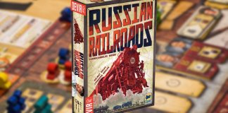 Russian Railroads big box juego de mesa